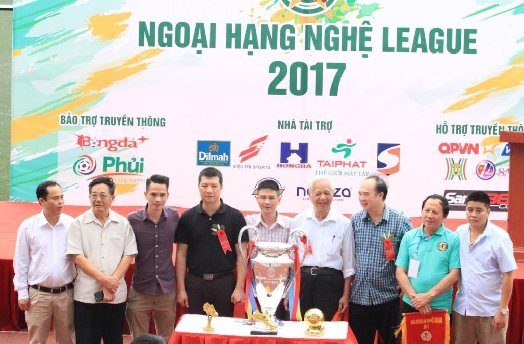 Vòng 1 Nghệ League 2017: Mưa bàn thắng
