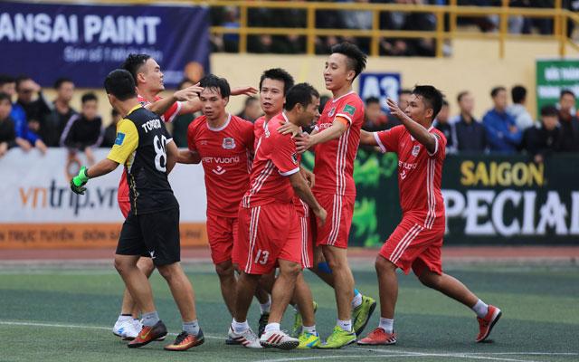 Vòng 9 HPL-S5: Top Group cướp ngôi đầu của Tin Lớn, Dương Nội xuống hạng sớm
