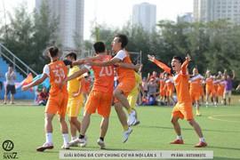 Vòng 16 đội Giải bóng đá Chung cư Hà Nội lần 5: Kịch tính đến phút chót