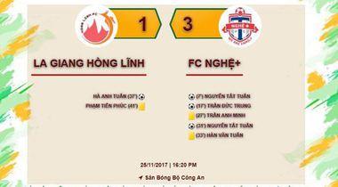 Vòng 2 Nghệ League: Nghệ + và Thanh Chương gây ấn tượng cực mạnh