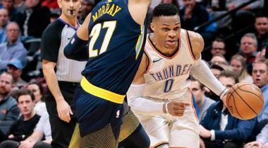 Russel Westbrook đưa OKC Thunder vào playoff với triple double