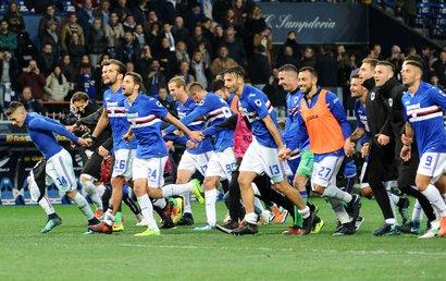 Sampdoria 3-2 Juventus