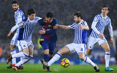 Real Sociedad 2 - 4 Barcelona