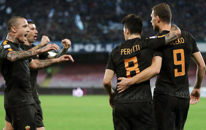 Napoli 2 - 4 Roma