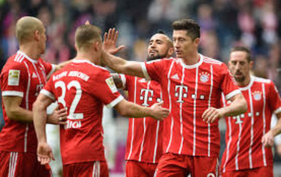 Bayern Munich 6 - 0 Hamburger