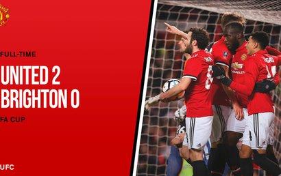 Manchester United 2 - 0 Brighton & Hove Albion
