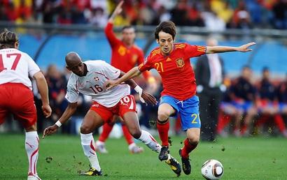 Tây Ban Nha 1-1 Thụy Sĩ