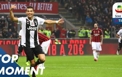 Highlight AC Milan - Juventus: Đẳng cấp ngôi sao