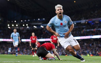 Top 5 bàn thắng đẹp nhất vòng 12 Premier League : Siêu phẩm Aguero dẫn đầu