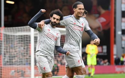 Bournemouth - Liverpool: Lên đỉnh
