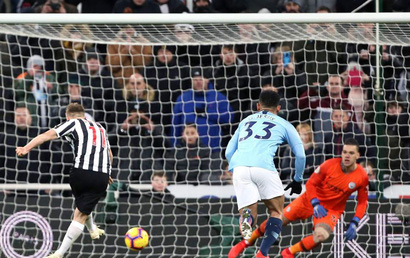 Newcastle - Man City: ĐKVĐ gục ngã