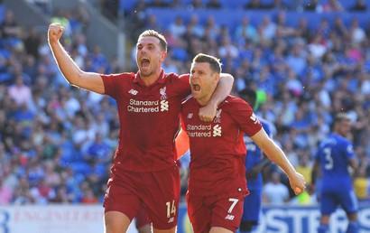 Cardiff - Liverpool: Lấy lại ngôi đầu