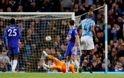 Man City - Leicester: Chạm 1 tay vào chức vô địch